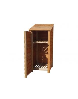 Wooden Log Store 4Ft or 6Ft (0.9m³ / 1.1m³ capacity) (W-79cm, H-126cm / 180cm, D-81cm)