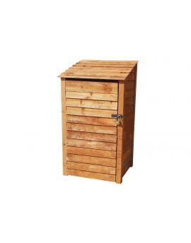Wooden Tool Store 4Ft or 6Ft (1m³ / 1.4m³ capacity) (W-99cm, H-126cm / 180cm, D-81cm)