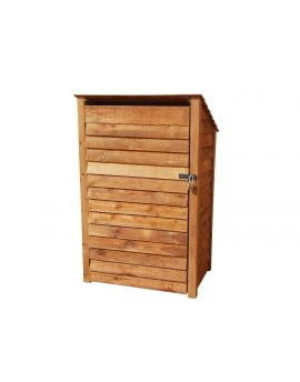 Wooden Tool Store 4Ft or 6Ft (1.2m³ or 1.7m³ capacity) (W-119cm, H-126cm or 180cm, D-81cm)