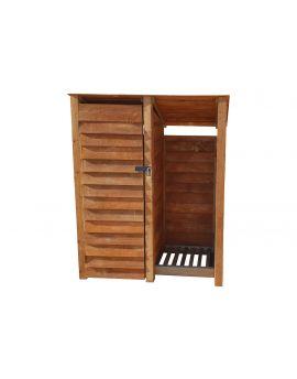 Wooden Tool Store 4Ft or 6Ft (1.49m³ / 2.1m³ capacity) (W-146cm, H-126cm / 180cm, D-81cm)