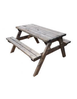 Classic Pub Style 4Ft and 5Ft Picnic Bench and Table