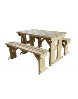 ASPEN Picnic Table Benches Set