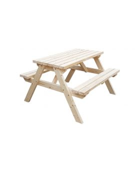 Classic Pub Style 4Ft Picnic Bench and Table