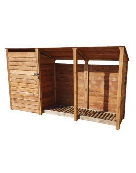 Wooden Tool Store 4Ft or 6Ft (3.4m³ / 4.9m³ capacity) (W-335cm, H-126cm / 180cm, D-81cm)