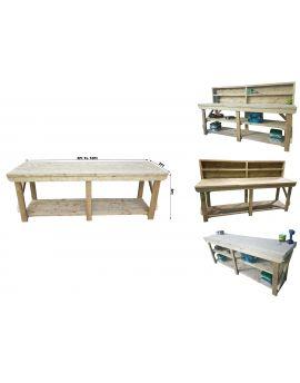 Wooden Pressure Treated Indoor / Outdoor Workbench