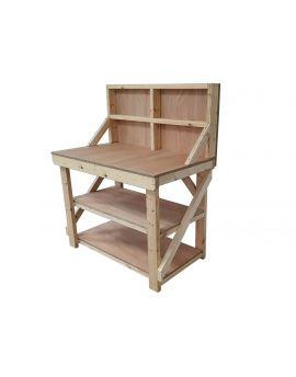 Wooden Workbench 18mm Eucalyptus Hardwood Ply Top