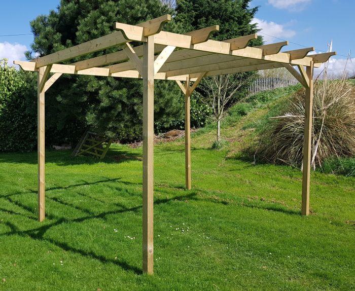 Pergolas Kit Wooden Garden Pergolas Arbor Garden Solutions