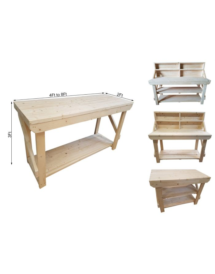 Swell Acorn Kiln Dry Wooden Workbench Andrewgaddart Wooden Chair Designs For Living Room Andrewgaddartcom