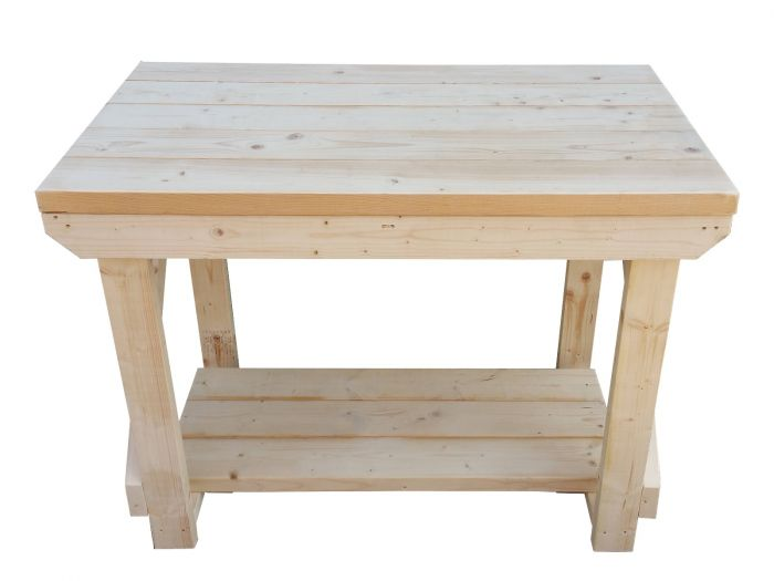 Pleasant Wooden Super Heavy Duty Indoor Outdoor Workbench Ocoug Best Dining Table And Chair Ideas Images Ocougorg