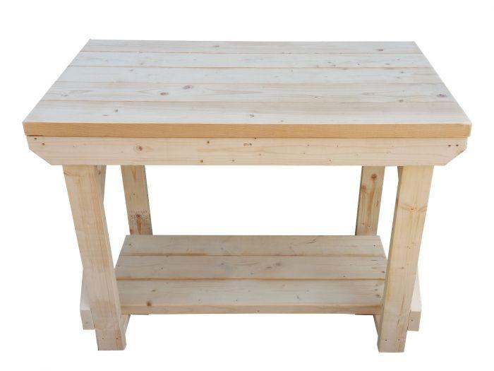 Amazing Wooden Super Heavy Duty Indoor Outdoor Workbench Inzonedesignstudio Interior Chair Design Inzonedesignstudiocom