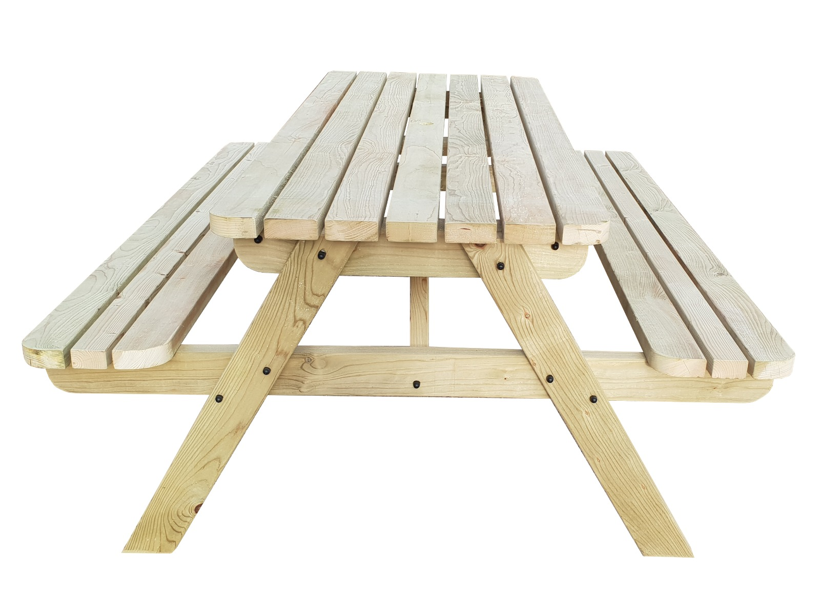 Classic Pub Style 4Ft and 5Ft Picnic Bench Table Garden Patio Furniture