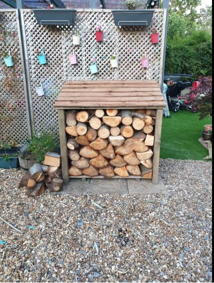 Our top tips for owning a log store